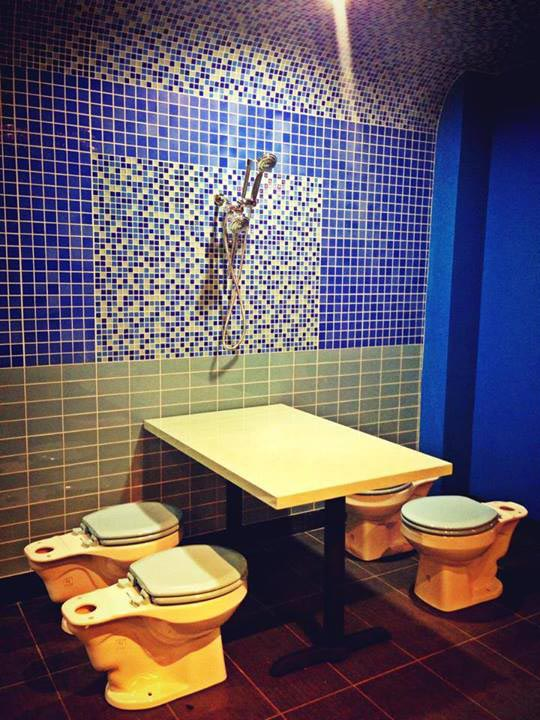 Magic Restroom Cafe, LA, USA