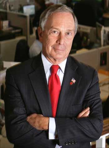 Michael Bloomberg addressed graduates of Koc University in Istanbul on June 13.