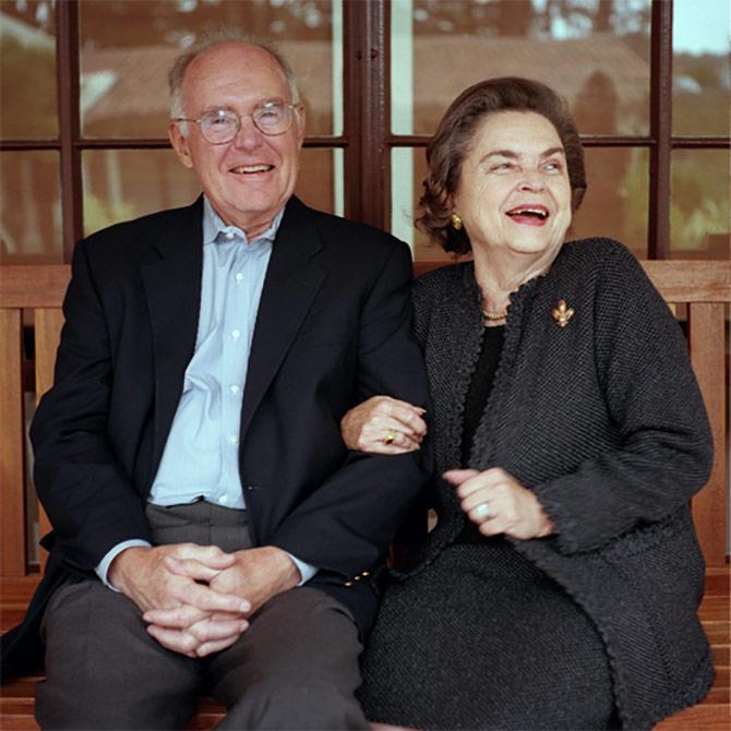 Gordon & Betty Moore.