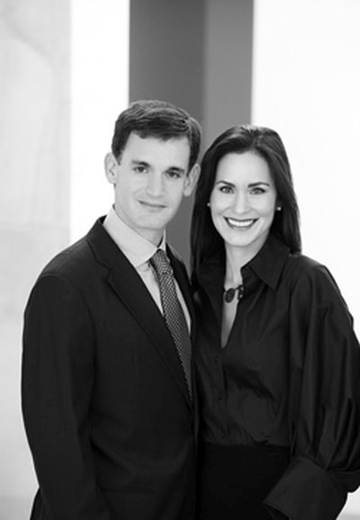 John & Laura Arnold.
