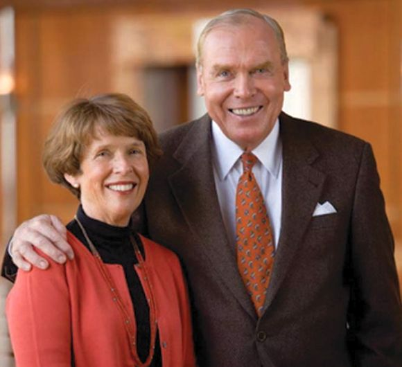 Jon Sr. & Karen Huntsman.