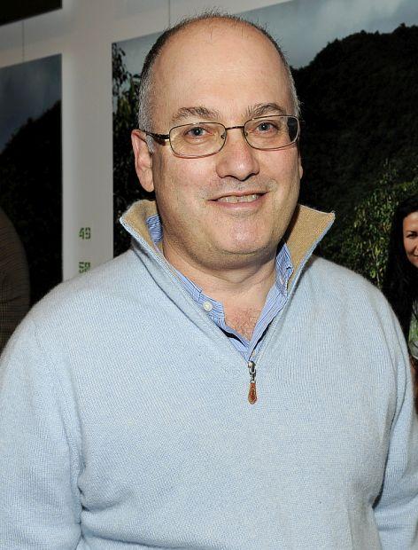 Steve Cohen at an exhibition.