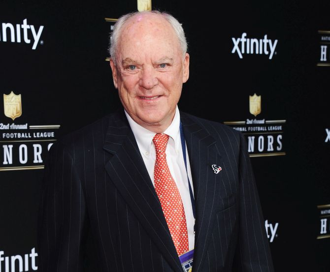 Robert McNair attends the 2nd Annual NFL Honors at Mahalia Jackson Theater.