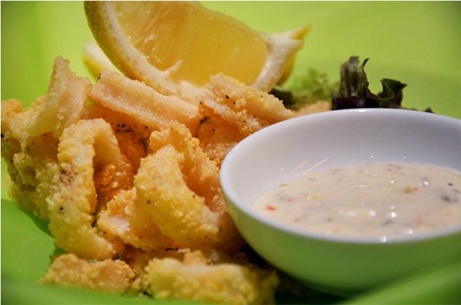 Calamari Fritti, Salsa Tartare