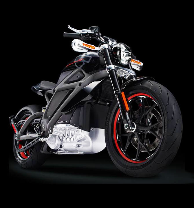 The sexiest electric bike: And it's a Harley!