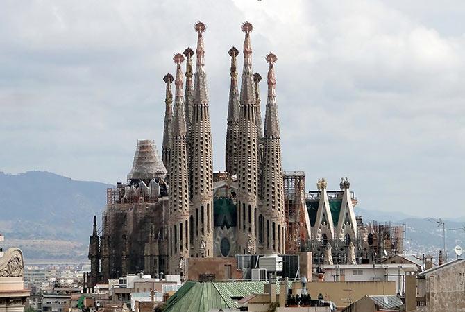 Basilica of the Sagrada Familia (Church of the Sacred Family), Spain