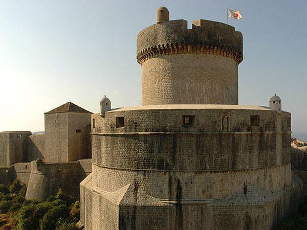 Ancient City Walls of Dubrovnik, Croatia