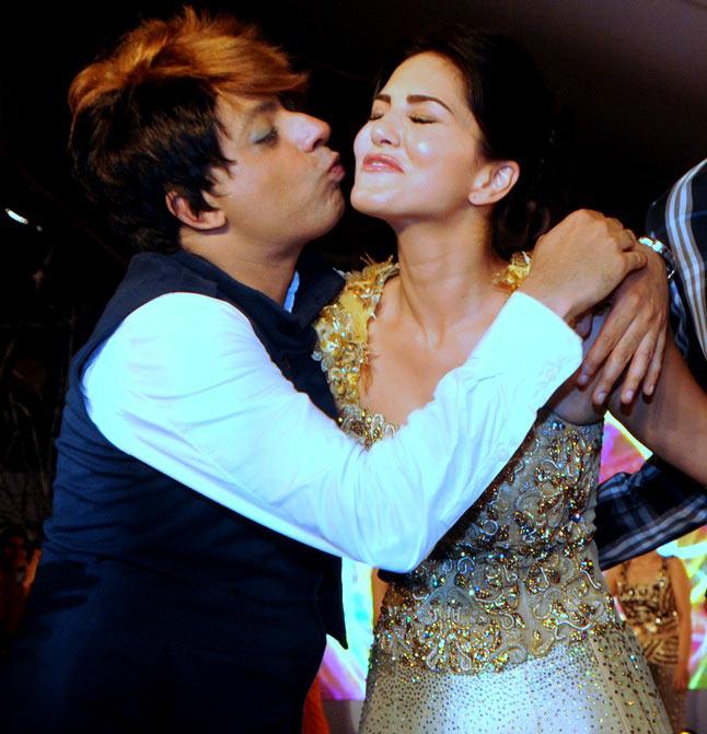 Rohhit Verma and Sunny Leone