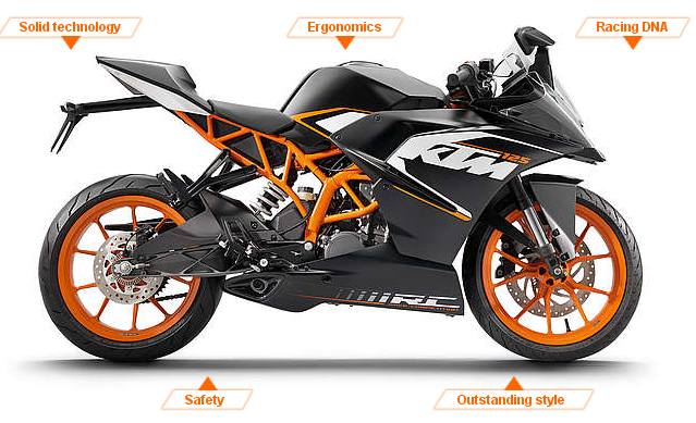 India-made KTM RC 125 all set to wow Europe