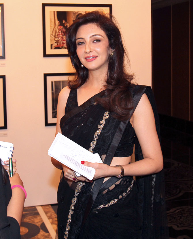 Saumya Tandon at the launch of Meri Beti Meri Shakti.
