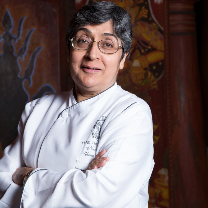 Starting out at a time when few lady chefs were seen in restaurant kitchens, Chef Veena Arora has been the odd woman out in a man's world.