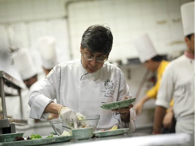 From being a housewife, to a top chef, Veena Arora's journey has been inspirational.