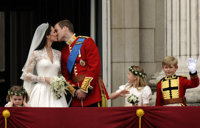 The most-watched kiss in the world!