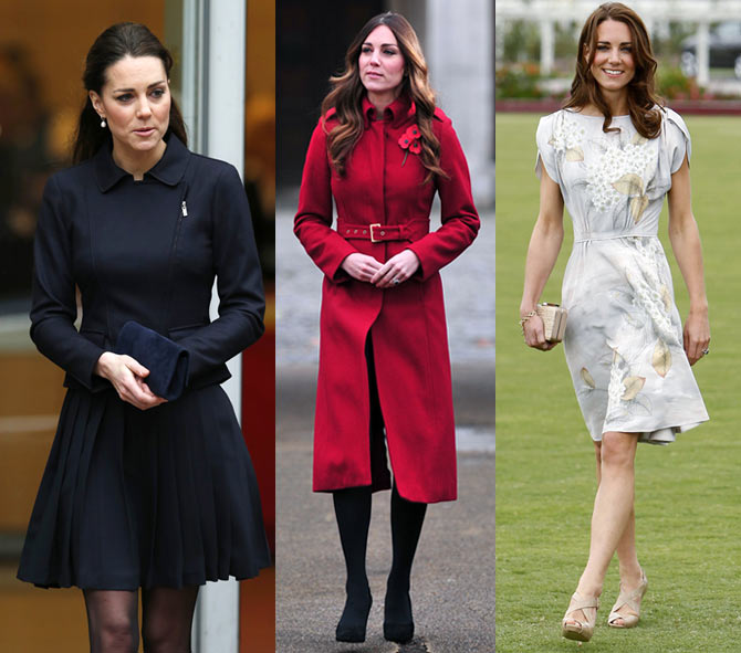 Queen Elizabeth may not necessarily approve of her short dresses but the young Duchess has been universally hailed for her choice of outfits.