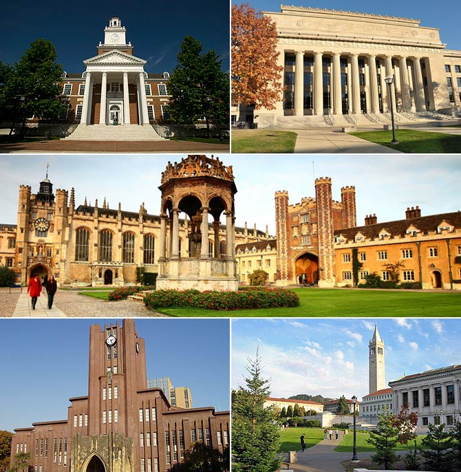 The World's best universities