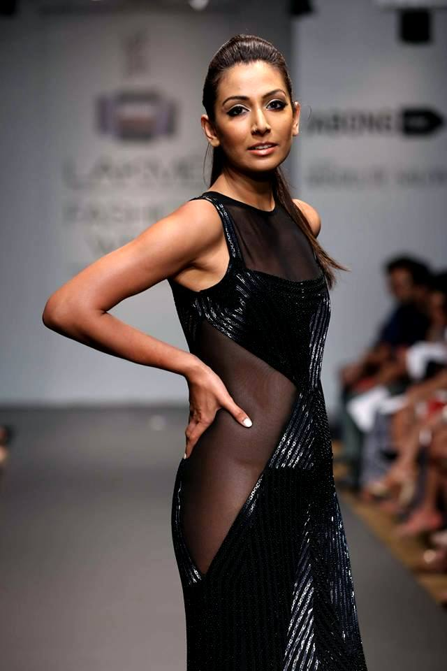 Monica Dogra in a Veda Raheja creation