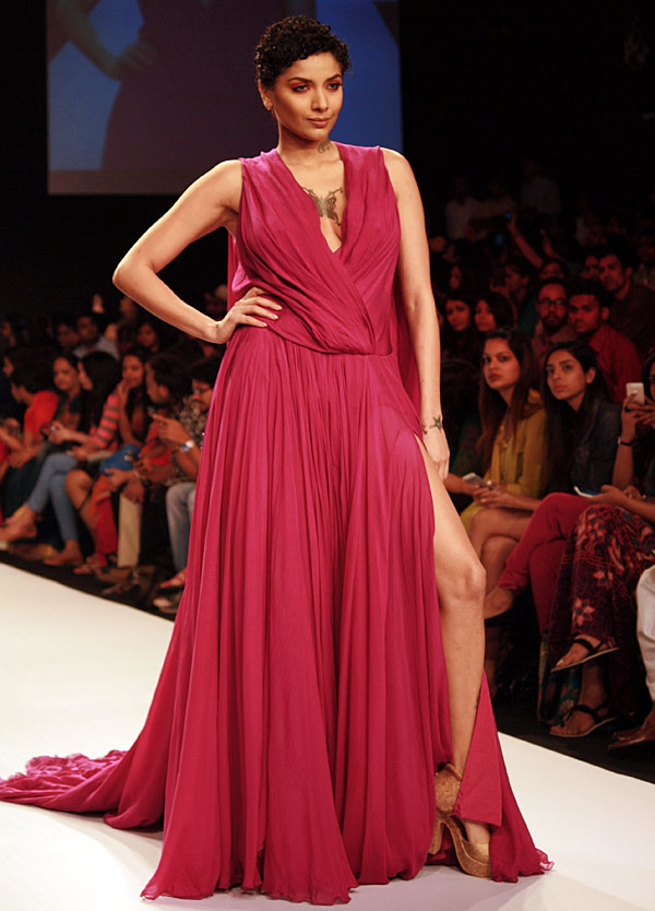 Diandra Soares in a Swapnil Shinde creation