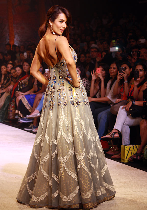 Malaika Arora Khan in a Anju Modi creation