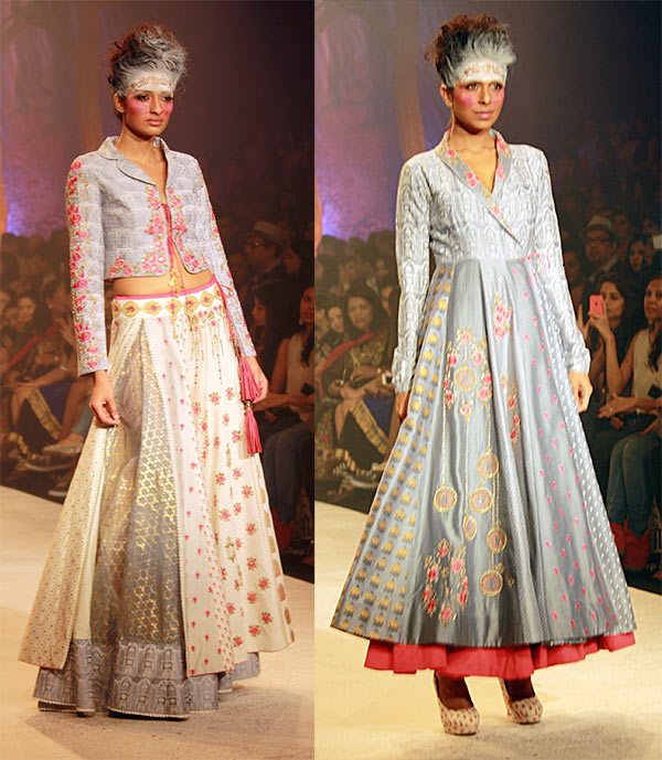 Models in Anju Modi creations