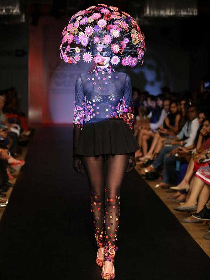 Latest News from India - Get Ahead - Careers, Health and Fitness, Personal Finance Headlines - Runway fashion: Will you wear these bizarre designs? Tell us!
