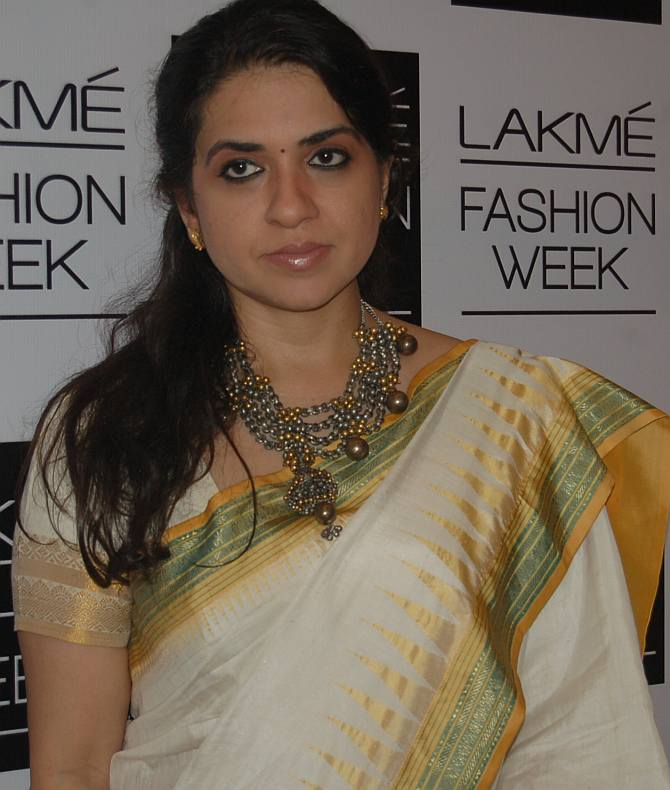 Shaina NC, BJP state treasurer and jewellery designer