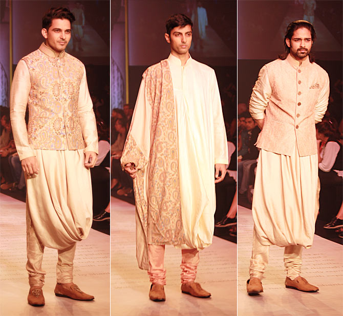 Models in Shantanu-Nikhil creations