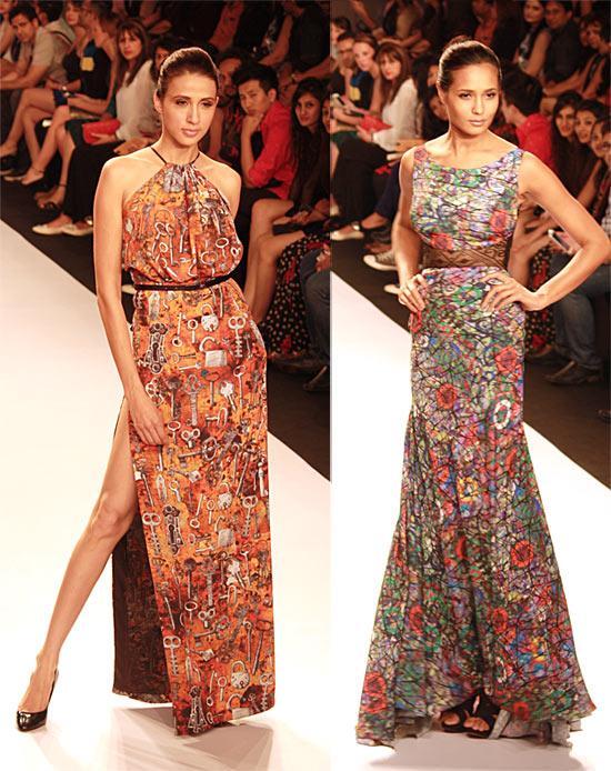 Model in Jyotsna Tiwari creations
