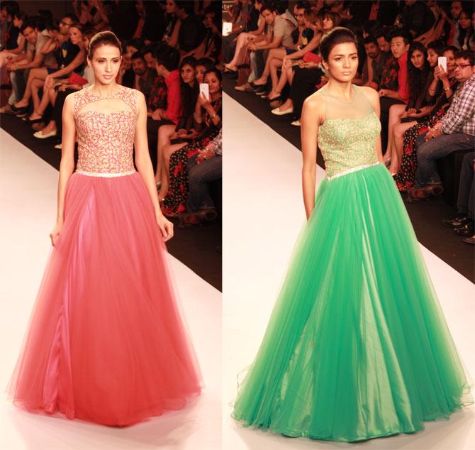 Models in Jyotsna Tiwari creations