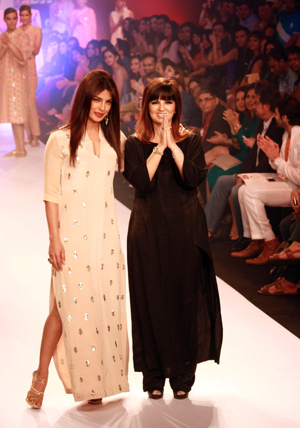 Priyanka Chopra closed the show for Neeta Lulla