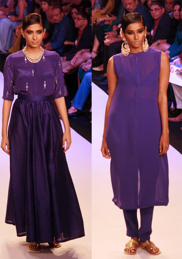 Models in Neeta Lulla creations