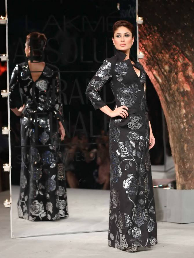 Kareena Kapoor in a Rajesh Pratap Singh creation