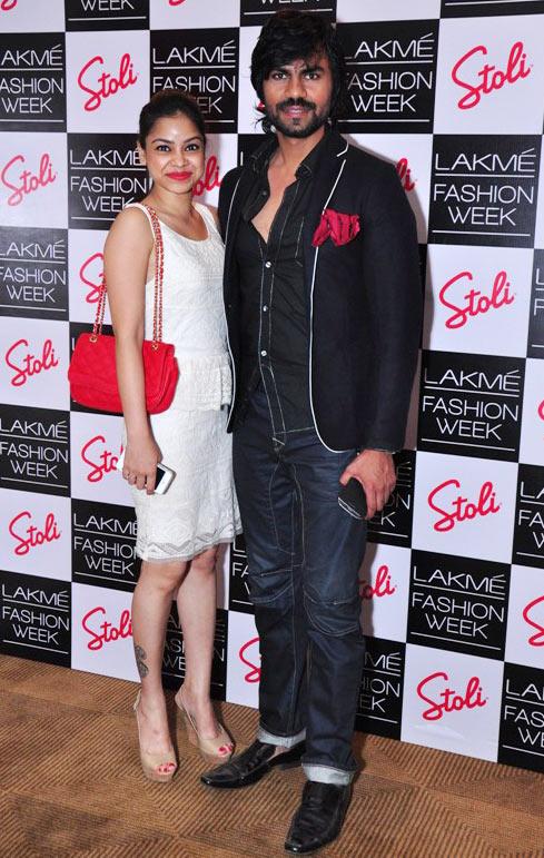 Sumona Chakravarthi and Gaurav Chopra