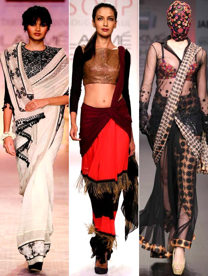 Drapes or float? Vote for your favourite sari style