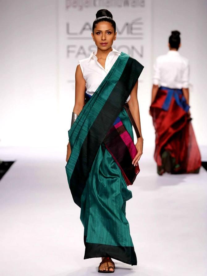 A model in a Payal Khandwala creation