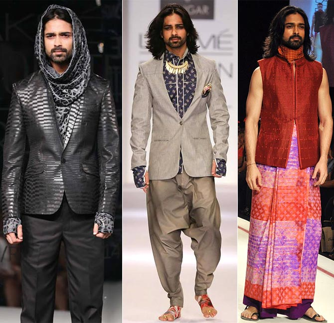 Sometimes you're required to wear strange outfits and accessories, says Amit Ranjan.