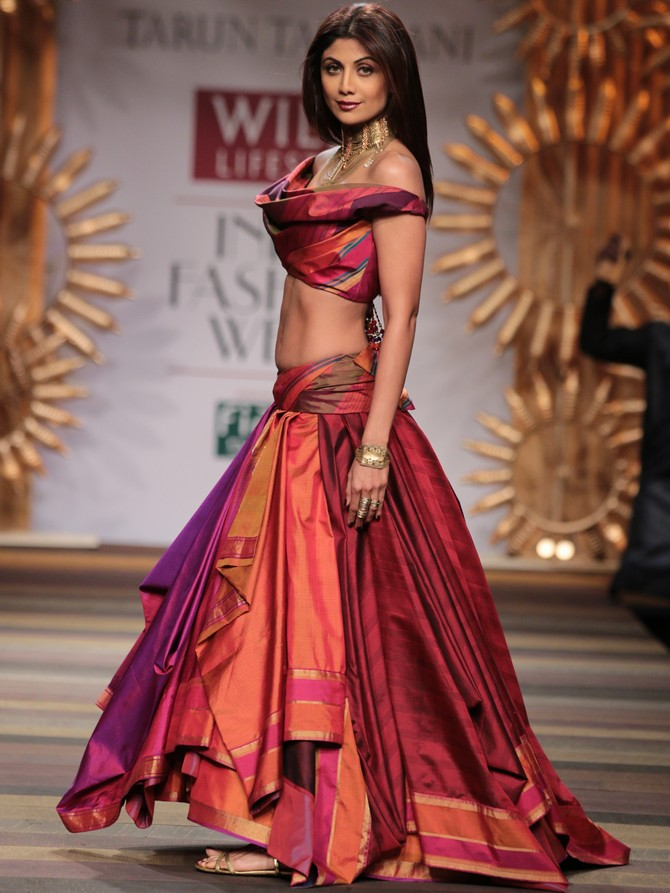Shilpa Shetty for Tarun Tahiliani