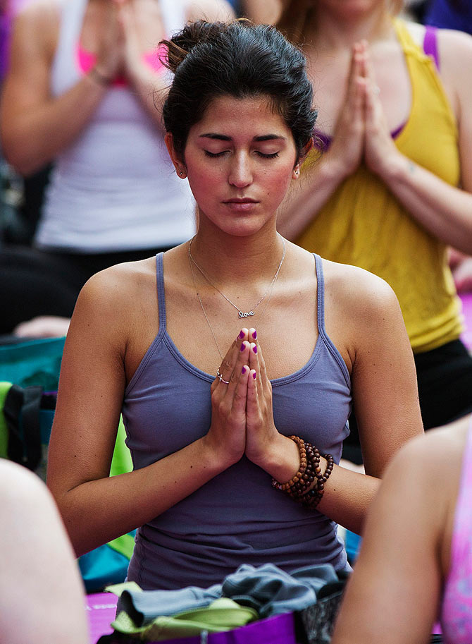 Meditation will help you stay calm and focus better.