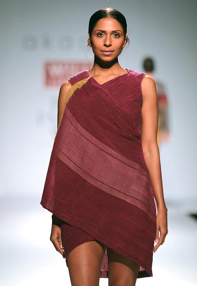 Candice Pinto in a Gaurav Jai Gupta creation