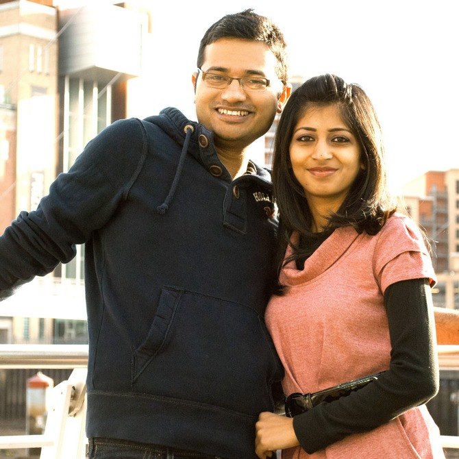 Samhita and Sagar got married in December 2013