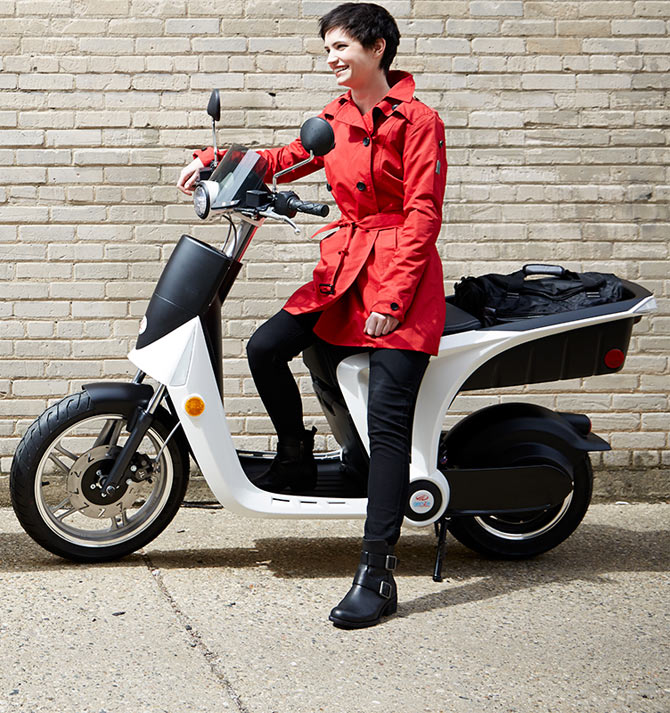 Mahindra's Electric Scooter GenZe