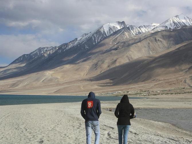 Pangong Lake, Leh, Jammu and Kashmir