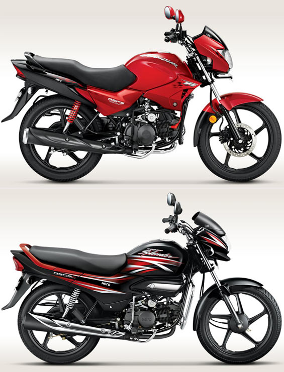 Biking: Hero launches 2014 Super Splendor and Glamour