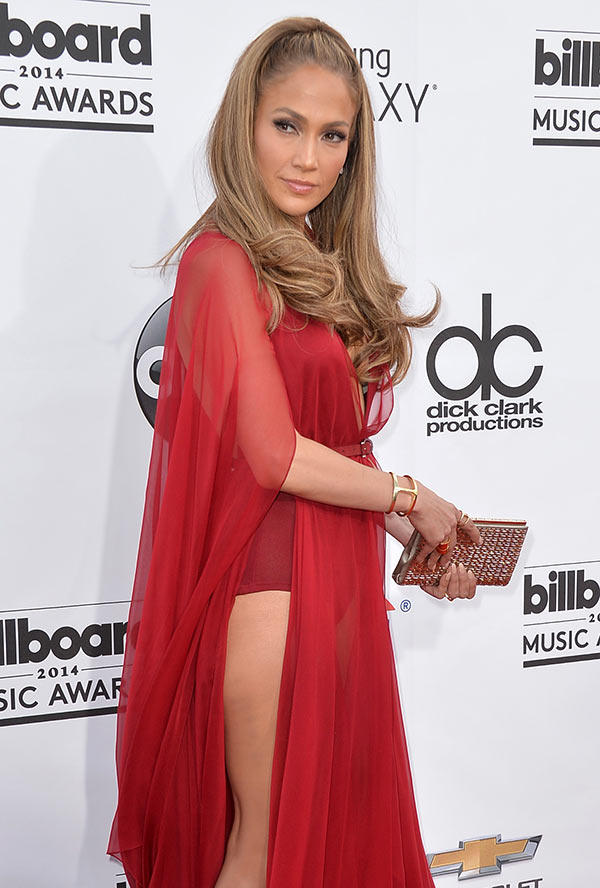 Singer Jennifer Lopez attends the 2014 Billboard Music Awards at the MGM Grand Garden Arena in Las Vegas, Nevada.