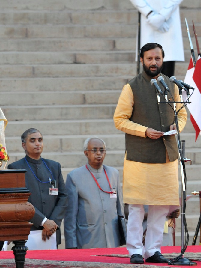 Prakash Javadekar is the Minister of State for Information and Broadcasting (Independent Charge), Environment, Forest and Climate Change (Independent Charge) and Parliamentary Affairs.