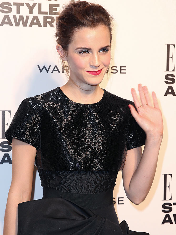 Emma Watson graduated from Brown University on Sunday.