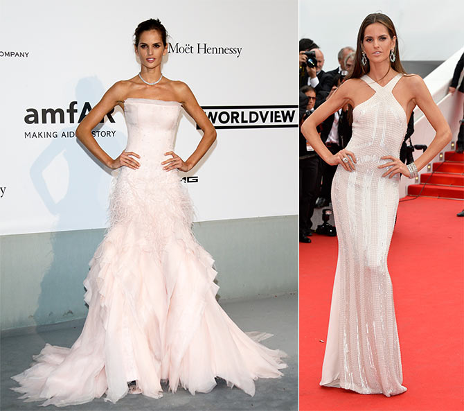 Izabel Goulart at the 67th Annual Cannes Film Festival.