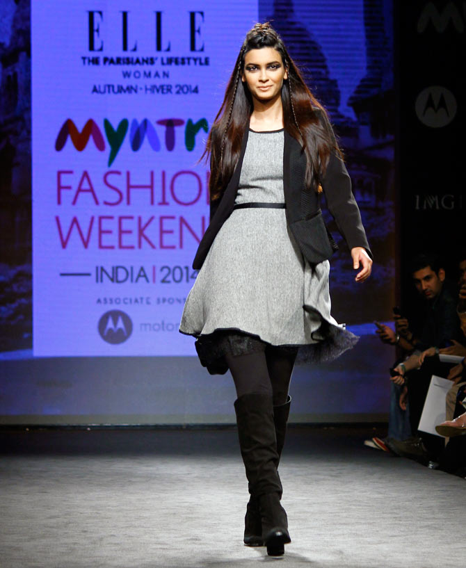 Myntra fashion show.