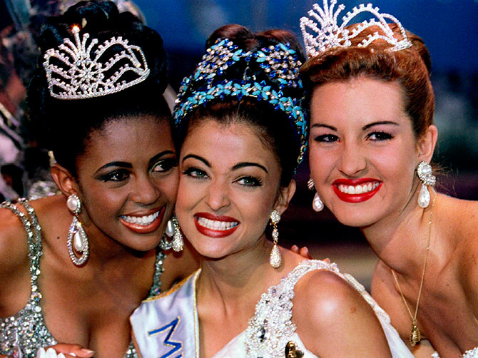 Aishwarya Rai on being crowned Miss World in 1994