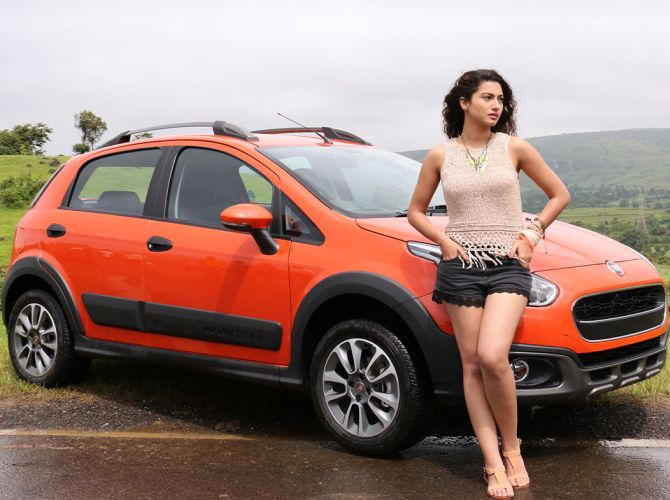 fiat new release carFiat launches miniSUV Avventura at Rs 599 lakh  Rediffcom Business