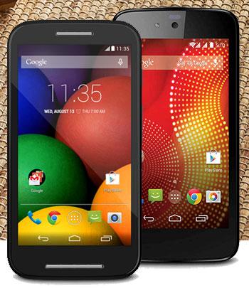 Karbonn vs Motorola: Fight for the most affordable smartphone